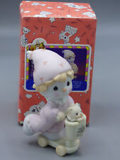 "Precious Moments ""Scootin' by just to say Hi"" B0111 1996 Symbol of Membership"