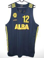 Vintage Alba Berlin Germany basketball shirt jersey #12 Alexis Adidas Size L