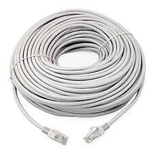 30 M RJ45 CAT6 Ethernet Red LAN Cable Lead-Premium Calidad De Cobre Gigabit