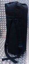 US Army Style Kit Bag / Duffle / Shoulder Bag / Ruck Sack Stealth Black - NEW