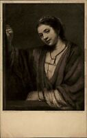Alte Künstlerkarte ~1910 Museum BERLIN Maler REMBRADT Verlag Julius Bard Berlin