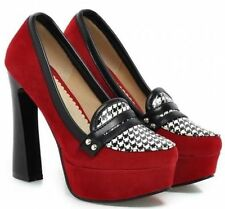 Pumps, Classics Geometric Synthetic Heels for Women