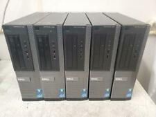 Lot of 5 Dell OptiPlex 390 Intel Core i3-2120 3.3GHz 4096MB Desktop Computer