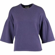 ERIC BOMPARD Ladies Luxurious Purple Cashmere Jumper - size Large - rrp £230