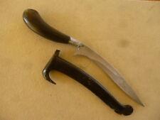 ANTIQUE ORIENTAL INDONESIAN FAR EAST ASIA PUSAKA KNIFE RENCONG DAGGER SUMATRA