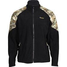 Rocky Boots Full Zip Fleece Hunting Jacket - Black and Rocky Venator Camo
