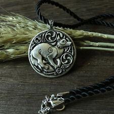 Valknut slavic FOX pendant Dukhobor amulet Slavic Viking perun axe Necklace