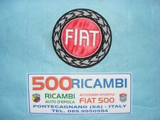 FIAT 500 F/L/R 126 STEMMA DI STOFFA LOGO FIAT PER INTERNI AUTO E TAPPEZZERIA