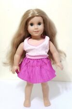 "AMERICAN GIRL Doll 18"" Elizabeth Friend Blonde Hair Blue Eyes  Pleasant Co Neck"