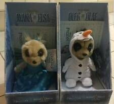 Both Disney Frozen Ayana as Elsa and Oleg as Olaf Limited Edition Meerkat