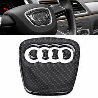 Fibra di carbonio volante distintivo emblema adesivo decalcomania per Audi A4 S4