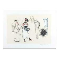 "Pablo Picasso ""Etude de Personnages"" Signed Limited Edition Lithograph on Paper"