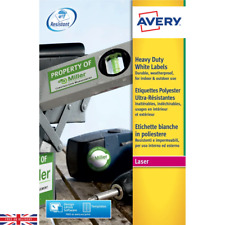 Avery Heavy Duty White Labels Pack of 480