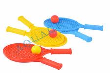 Softtennis Beach Softball Tennis Spiel Set für Kinder 2 Schläger 1 Ball S Neu TU