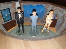 Corgi James Bond 007 Dr. No Figur Diorama Underground Lair Versteck Höhle