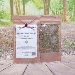 Shepherds Purse Herb ( Capsella bursa pastoris - Herba Bursae pastoris ) Natural