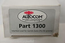 Autocom-parte #1300 - Interfaz De Plomo Para Garmin Zumo (antes de 06 sistemas)