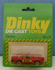Dinky Toys (Airfix ownership) No. 115 Chevrolet 'Camaro' Car.  Mint. Packaged