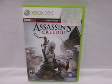XBOX 360 GameStop Edition Assassins Creed III Mature 2012 Ubisoft Inc