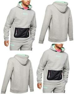 UNDER ARMOUR MENS SUMMIT RIVAL FLEECE HOODIE SPORTS UA GYM PULLOVER HOODY TOP