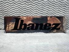 Ibanez Guitars CHROME Sticker<>SUPER RARE<>NOS<>Japan<>Collector