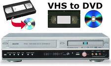 Sanyo DVR-V100E VCR DVD Recorder Multiregion Copy VHS to DVD 90 days WARRANTY