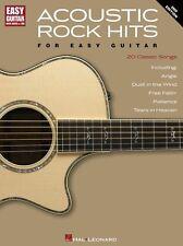 Acoustic Rock Hits para fácil Guitarra aprender Play Beatles ayer Etiqueta música Libro