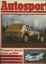 Autosport Dec 6th 1984 *RAC Rally & Lister Jaguar XJS*