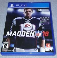 Madden NFL 18 ps4 playstaton 4