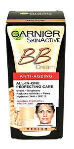 Garnier BB Cream Anti Ageing Miracle Skin Perfector All in One 50ml Medium