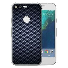 STUFF4 Phone Case/back Cover for Huawei Nexus 6p /carbon Fibre Effect/pattern Blue