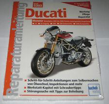 Reparaturanleitung Ducati Monster S4, Fogarty, S4R, Testastretta, S4RS ab 2001
