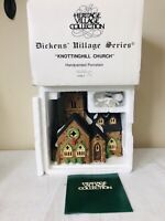 Dept 56 Heritage Dickens Village KNOTTINGHILL CHURCH 5582-4 w/ Original Box