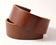 WHOLESALE  Genuine Brown Leather Strap, Bag Strap, 5 YARDS (1311W)