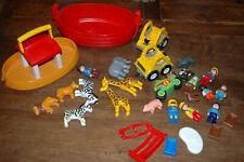 Lot de PLAYMOBIL 1er age  - 1 2 3 - Arche de Noé et personnages