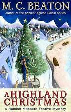 A Highland Christmas by M. C. Beaton (Paperback) New Book