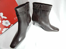 NEW Corelli Women's Short Boots Brown Leather Size 9 1/2 NIB*