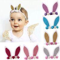 Cute Kids Baby Girls Toddler Rabbit Ear Headband Hair Band Headwear Accessories