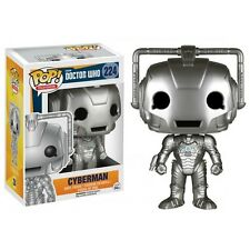 "DOCTOR WHO CYBERMAN 3.75"" POP VINYL FIGURE FUNKO BRAND NEW"