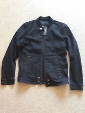 mens diesel black denim  jacket xl. BNWT