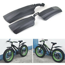 2Pcs Snow Bicycle Mountain Bike Front Rear Mud Guard Fenders for Fat Tire ^P