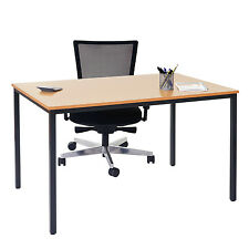 Scrivania tavolo conferenza Braila MDF 80x120x75cm legno chiaro