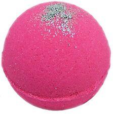 Bath Bomb 5.5 Oz Pink Sugar with Kaolin Clay & Coconut Oil