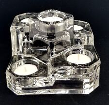 Crystal Castle 5 Tier Crystal Candle Holder, PartyLite, Euc