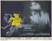 THE TRIP Movie POSTER 22x28 Half Sheet Peter Fonda Susan Strasberg Bruce Dern