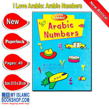 I Love Arabic Arabic Numbers Handwriting Book for Muslim Children Ages 5
