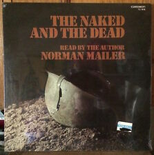 MINT SEALED! VINTAGE LP VINYL RECORD THE NAKED & THE DEAD READ BY NORMAN MAILER!