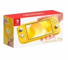 Nintendo Switch Lite Handheld Console 32GB  - Yellow - Brand New - In Stock Now!