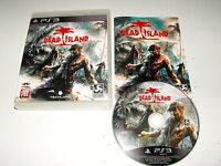 """Dead Island Great PS3 Game in Great Condition """"Note Region 3 game"""""""