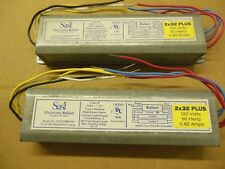2  -  SASI 2F032T8RSFO Electronic Fluorescent 120V Ballast for (2) F32T8 Lamps